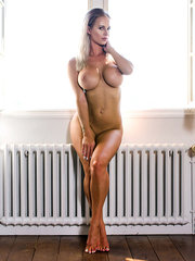 sexy tanned milf